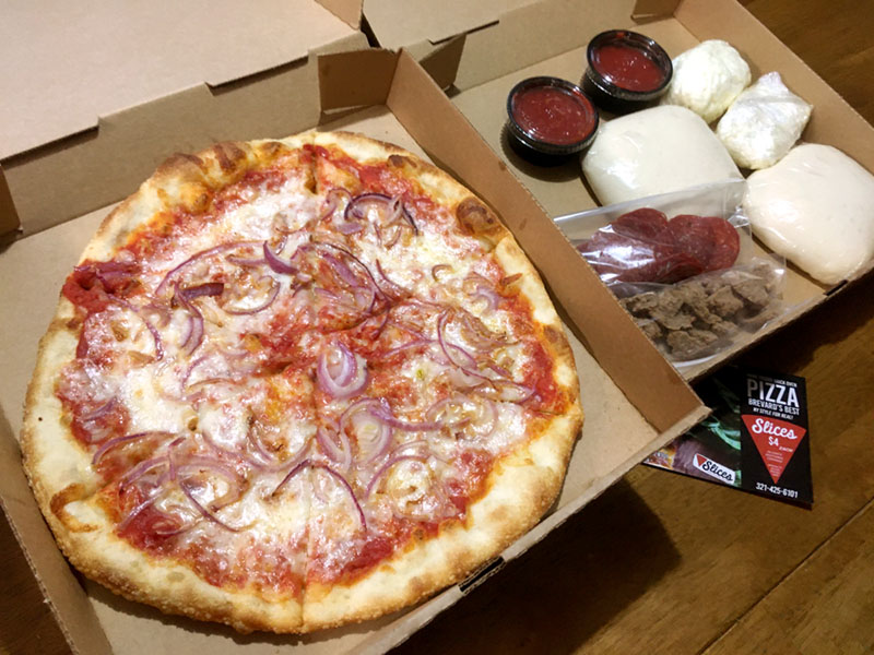 Pizza Kits from Slices Pizza